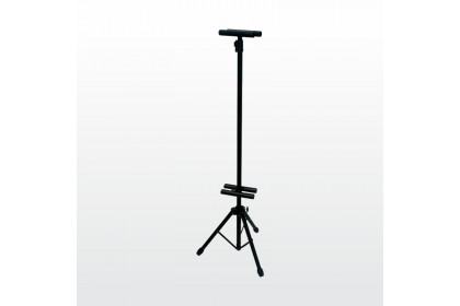 Adjustable Streamer Poster Tripod Stand Double Sided Clip T Stand Tripod