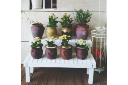 Weatherproof anti-mold outdoor garden flower pot rack balcony flower rack decoration rack shoes rack 防水花架